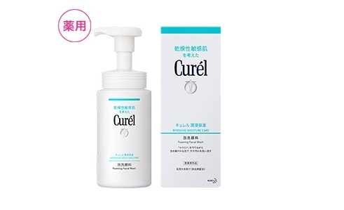 Curel キュレル 潤浸保湿 泡洗顔料
