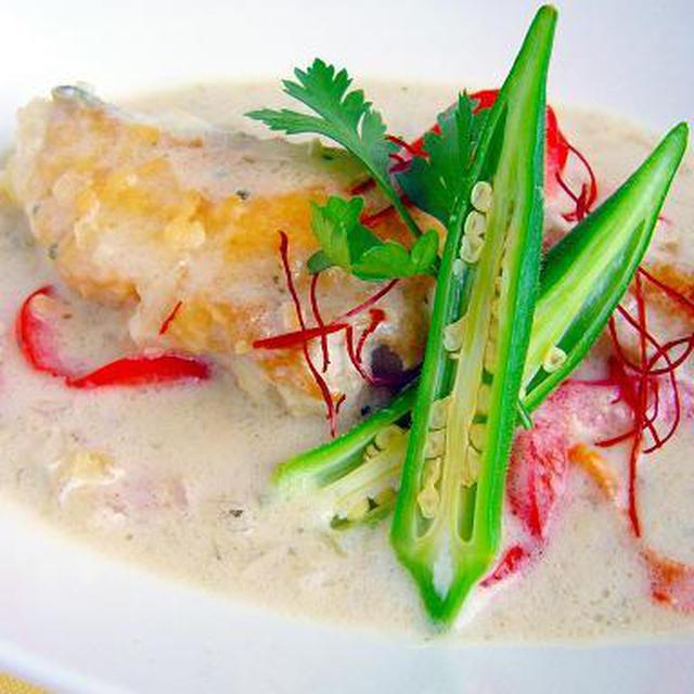 真鯛のココナッツミルク煮