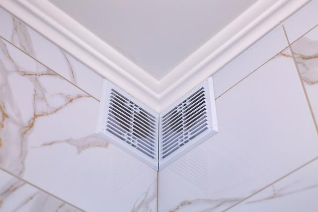 お風呂の壁と換気扇